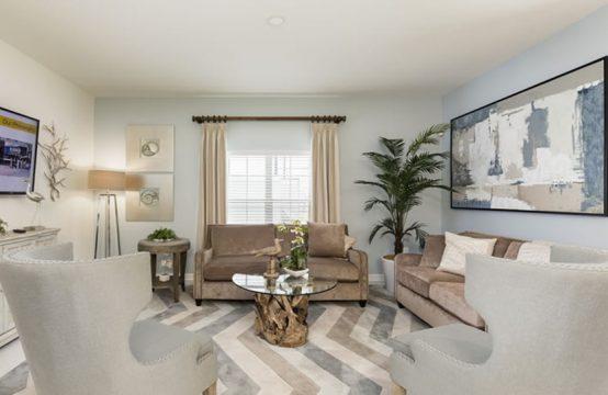 Champions gate royale palm model living room