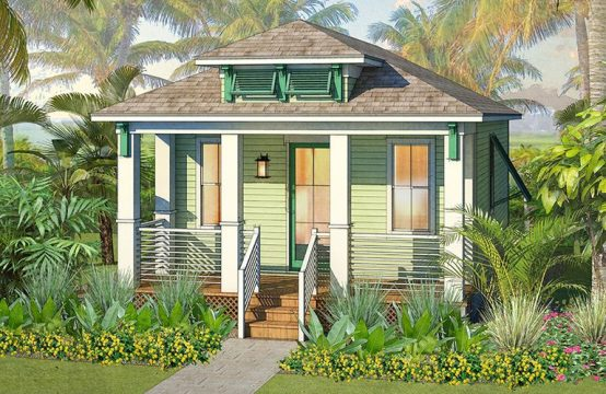 Rendering Margaritaville Resort Orlando cottage